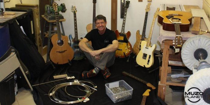 guitar re-fret foster guitar works muzoplanet