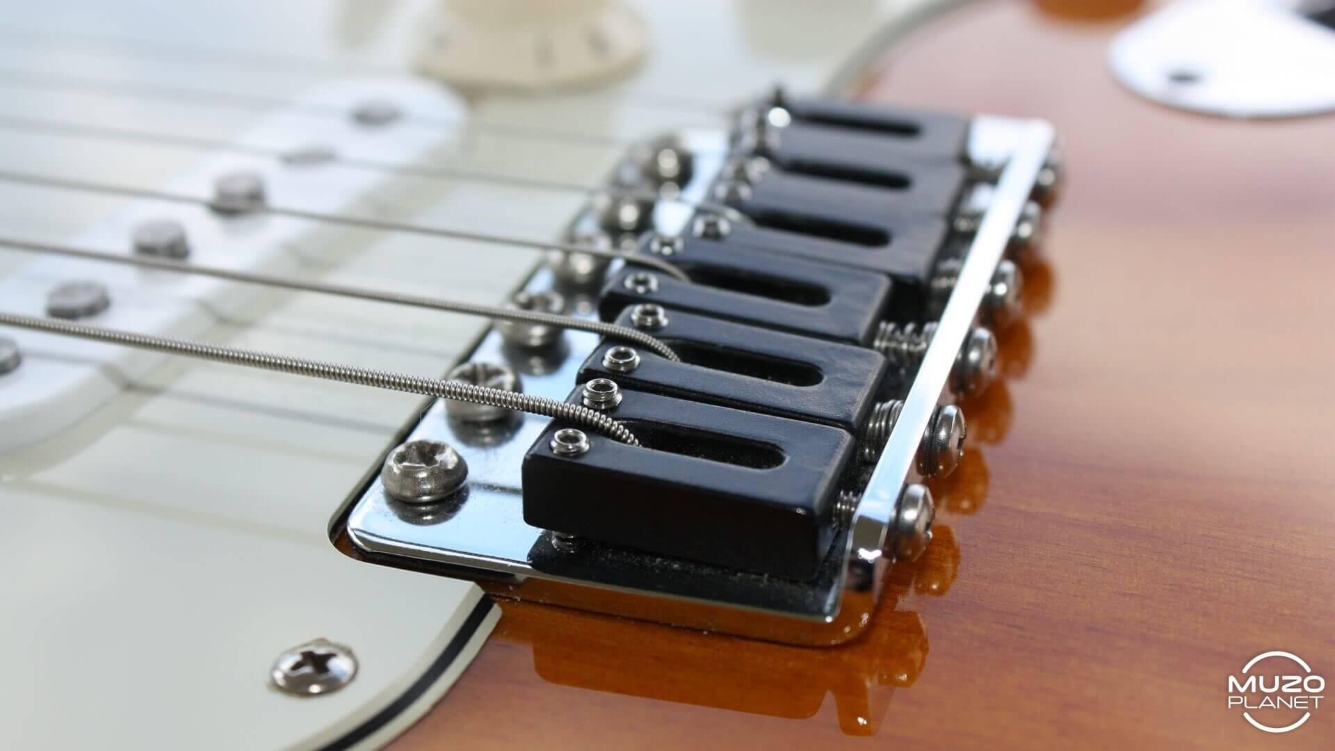 Stratocaster mods Graphtec String Savers saddles muzoplanet