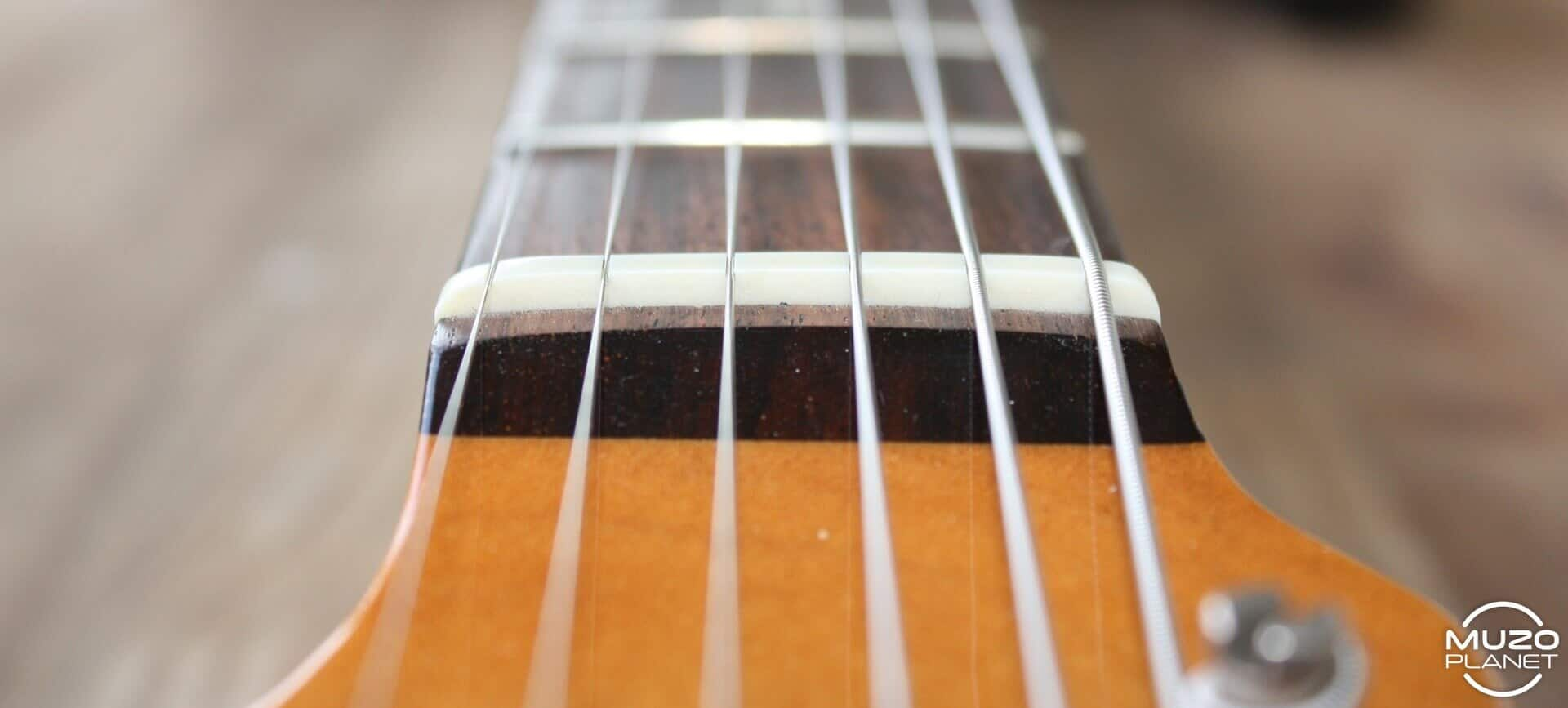 Stratocaster mods bone nut muzoplanet