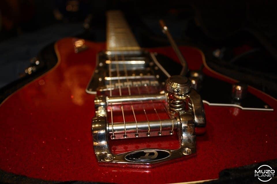 Duesenberg guitars paloma muzoplanet gear check jeandré schultz