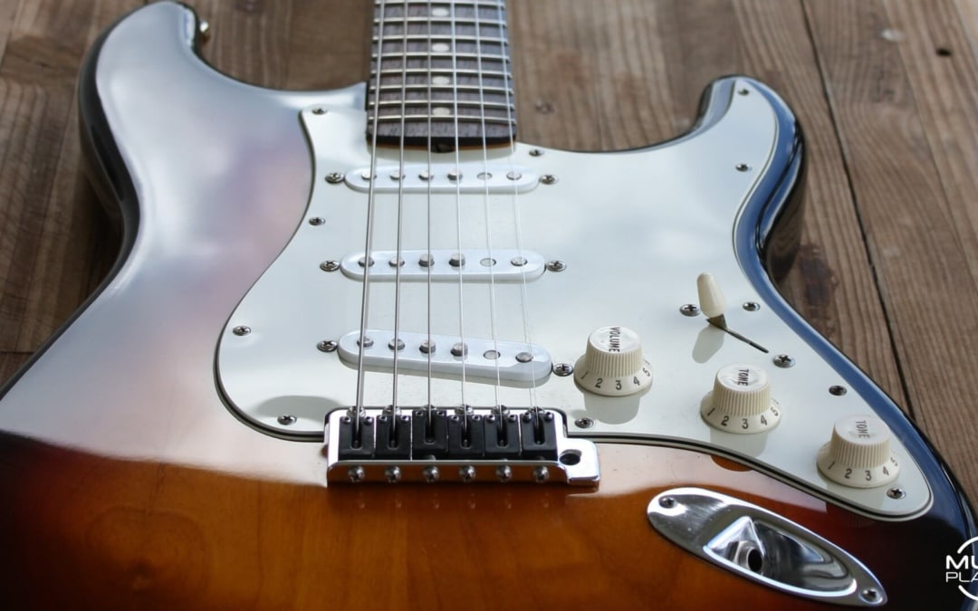 Stratocaster mods - pickup changes and re-fret - MuzoPlanet