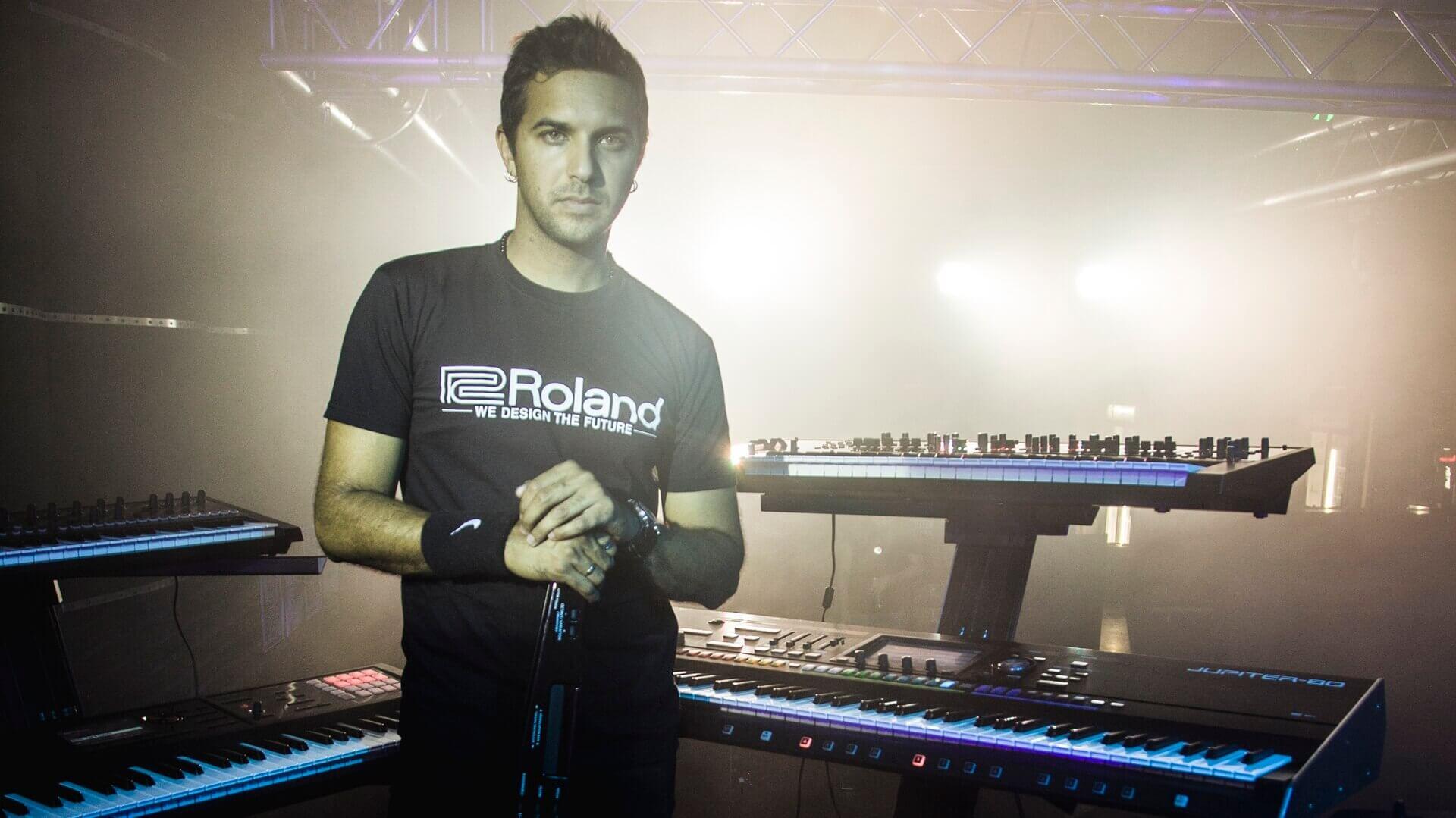 Roland keyboards ambassador in SA - kyle petersen musician - MuzoPlanet