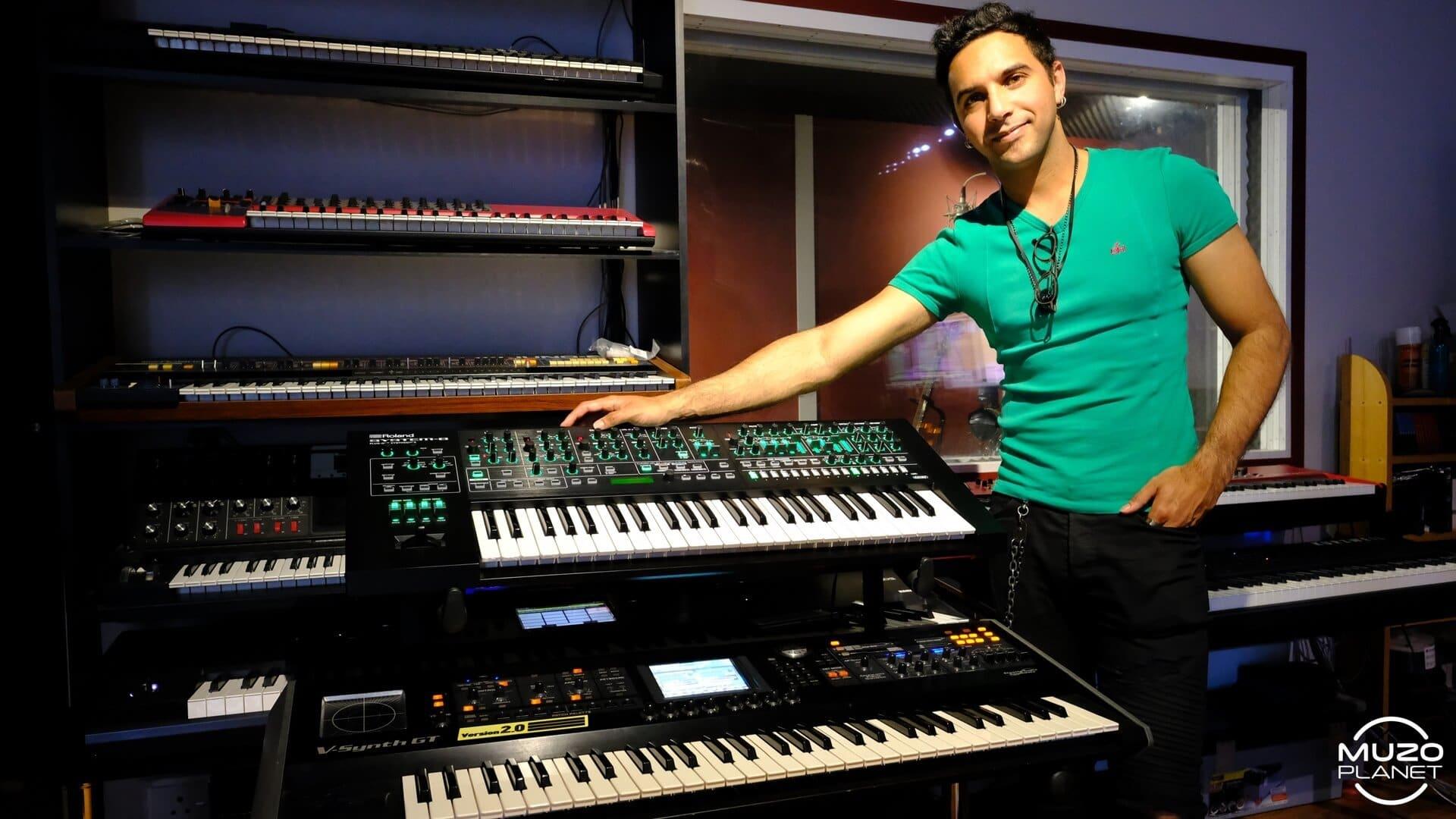 kyle petersen musician - Roland Keyboards
