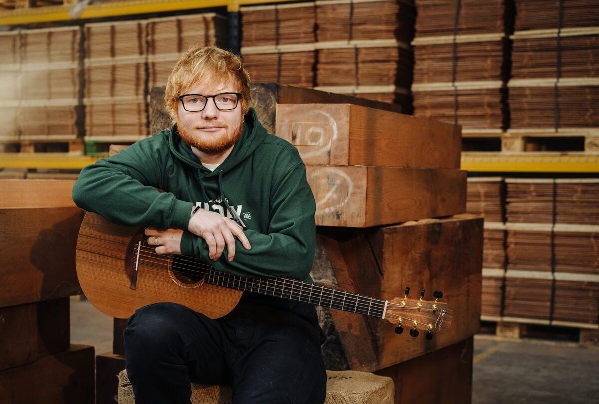 sheeran guitars - ed sheeran and lowden guitars