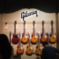 Gibson guitars exhibition at NAMM